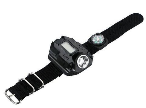 Image of ULTRAFLARE™ Tactical Wrist Watch Light - USB Rechargable *FREE SHIPPING*