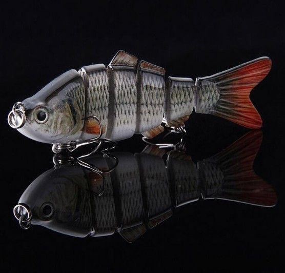 Ultimate Bass Buster 6 Segment Swim Bait   *FREE SHIPPING*