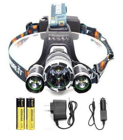 Image of Hunter's ULTRA Bright LED Rechargeable HeadLamp