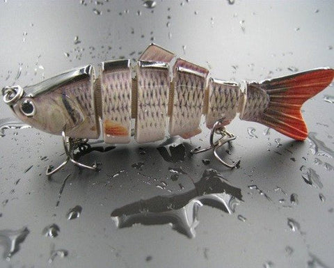 Image of Ultimate Bass Buster 6 Segment Swim Bait   *FREE SHIPPING*