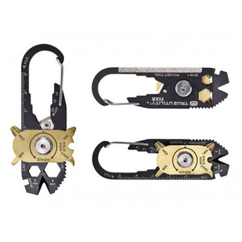 Ultimate 20 in 1 Survival Multi Tool Carabiner