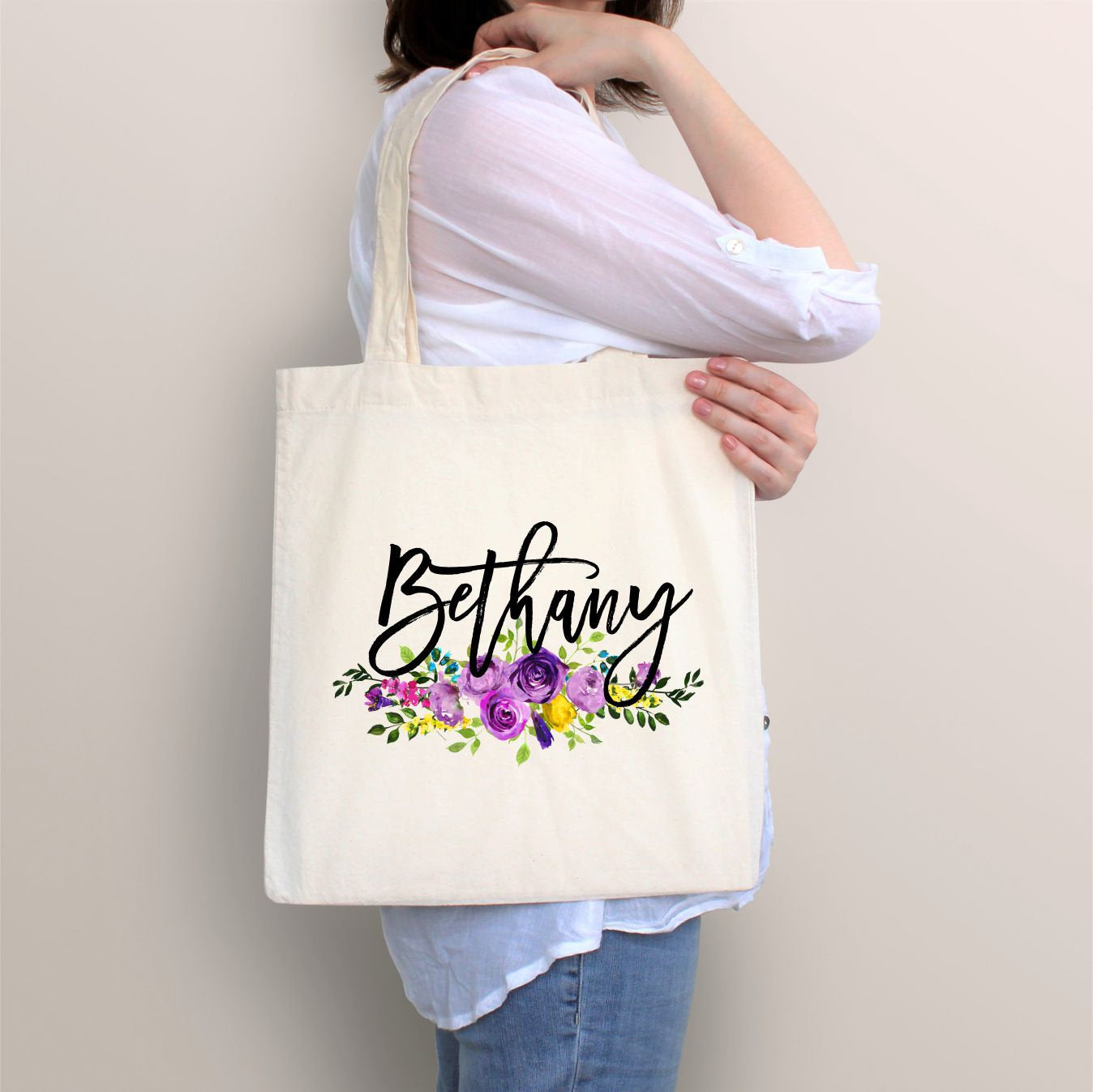 Image result for Personalized Tote Bag for Her:
