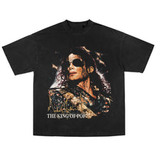 Load image into Gallery viewer, MICHAEL JACKSON KING OF POP T-SHIRT