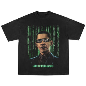 OBAMA MATRIX T-SHIRT