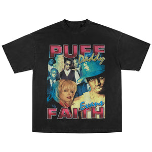 PUFF DADDY & FAITH EVANS MISSING YOU T-SHIRT