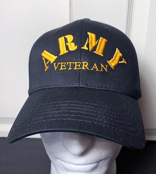 Army Veteran Embroidered Cap