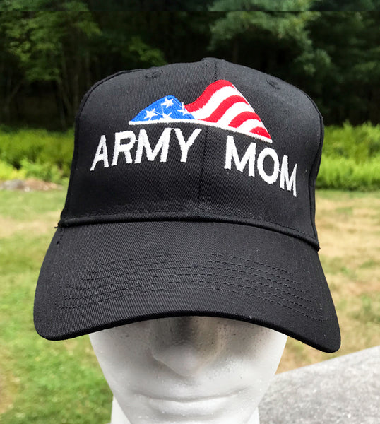 Army Mom Embroidered Cap - Badass Printing