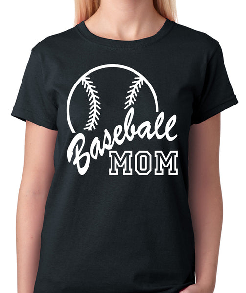 Baseball Mom Shirt - Badass Printing