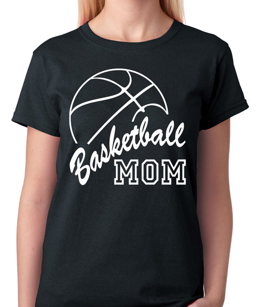 Basketball Mom T-Shirt - Badass Printing