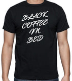 Song Lyrics T-Shirt - Rock Group Squeeze, Black Coffee In Bed, 1980's Rock - Badass Printing