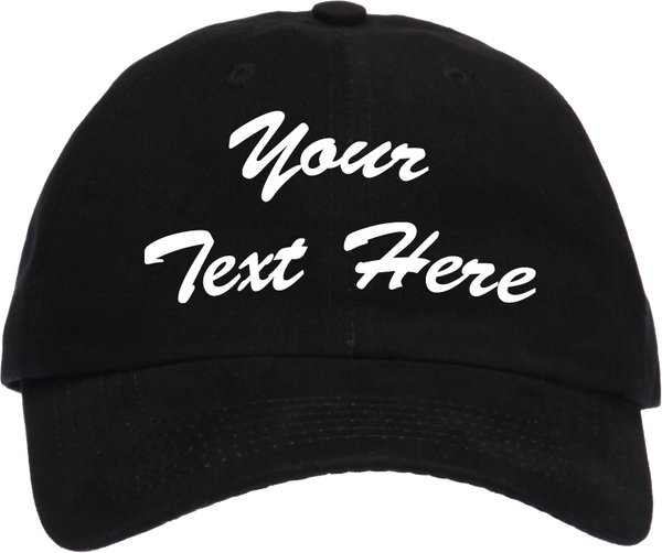 Personalized Baseball Cap (Embroidered)