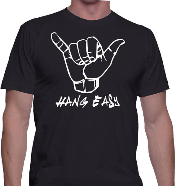 Hang Easy Beach T-Shirt - Badass Printing