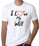 "Husband Shirt ""I Love My Wife"" - Badass Printing"