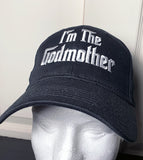 The Godmother Embroidered Baseball Cap