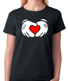 Hands in Shape of Heart T-Shirt - Badass Printing