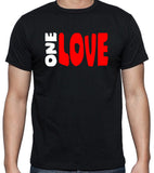 One Love T-Shirt - Badass Printing