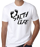 Salty Life Beach T-Shirt, Good Vibes Beach Lovers, Summer Shirts