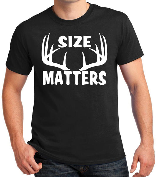 Size Matters Funny Hunting T-Shirt