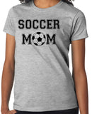 "Mother T-Shirt ""Proud mother of son or daughter soccer player"", Soccer Mom - Badass Printing"