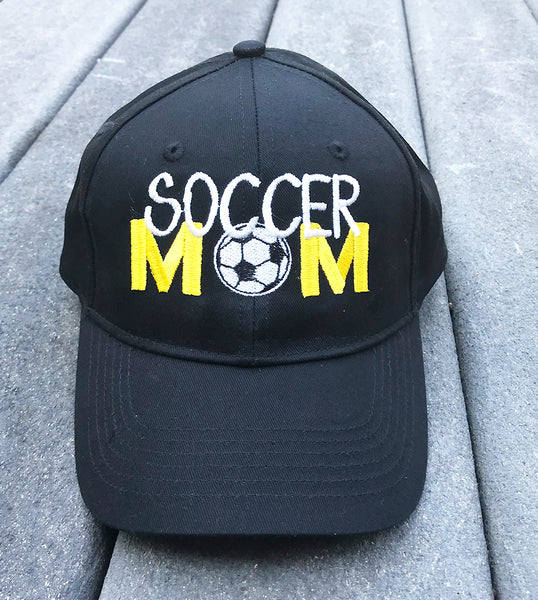 Soccer Mom Embroidered Cap - Badass Printing