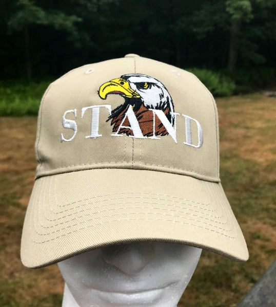 Patriotic Embroidered Cap - Stand - Badass Printing