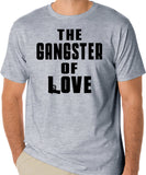 Song Lyrics T-Shirt - The Gangster Of Love by The Steve Miller Band, 1960's & 1970's Rock - Badass Printing