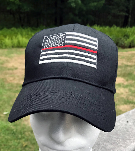 Thin Red Line Firefighters Cap - Badass Printing