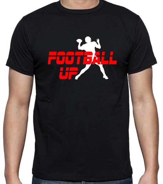 Football Up T-Shirt - Badass Printing