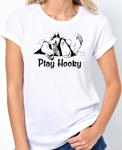 Play Hooky Under The Covers T-Shirt - Badass Printing
