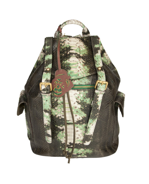 PYTHON TIE DYED BACKPACK