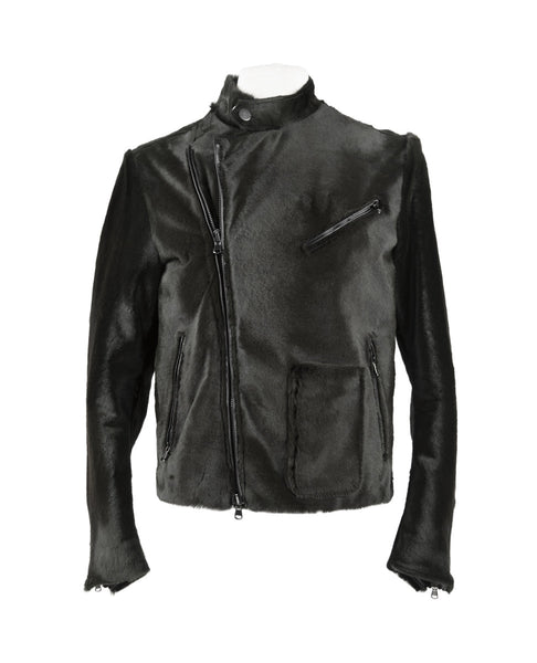 KANGAROO HAIR MOTORCYCLE JACKET