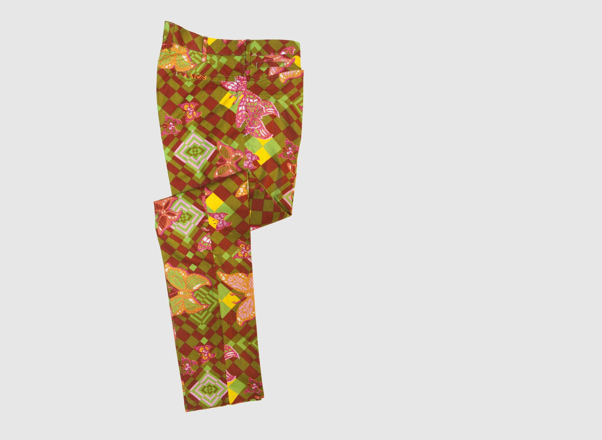 COTTON AFRICAN PRINT PANT