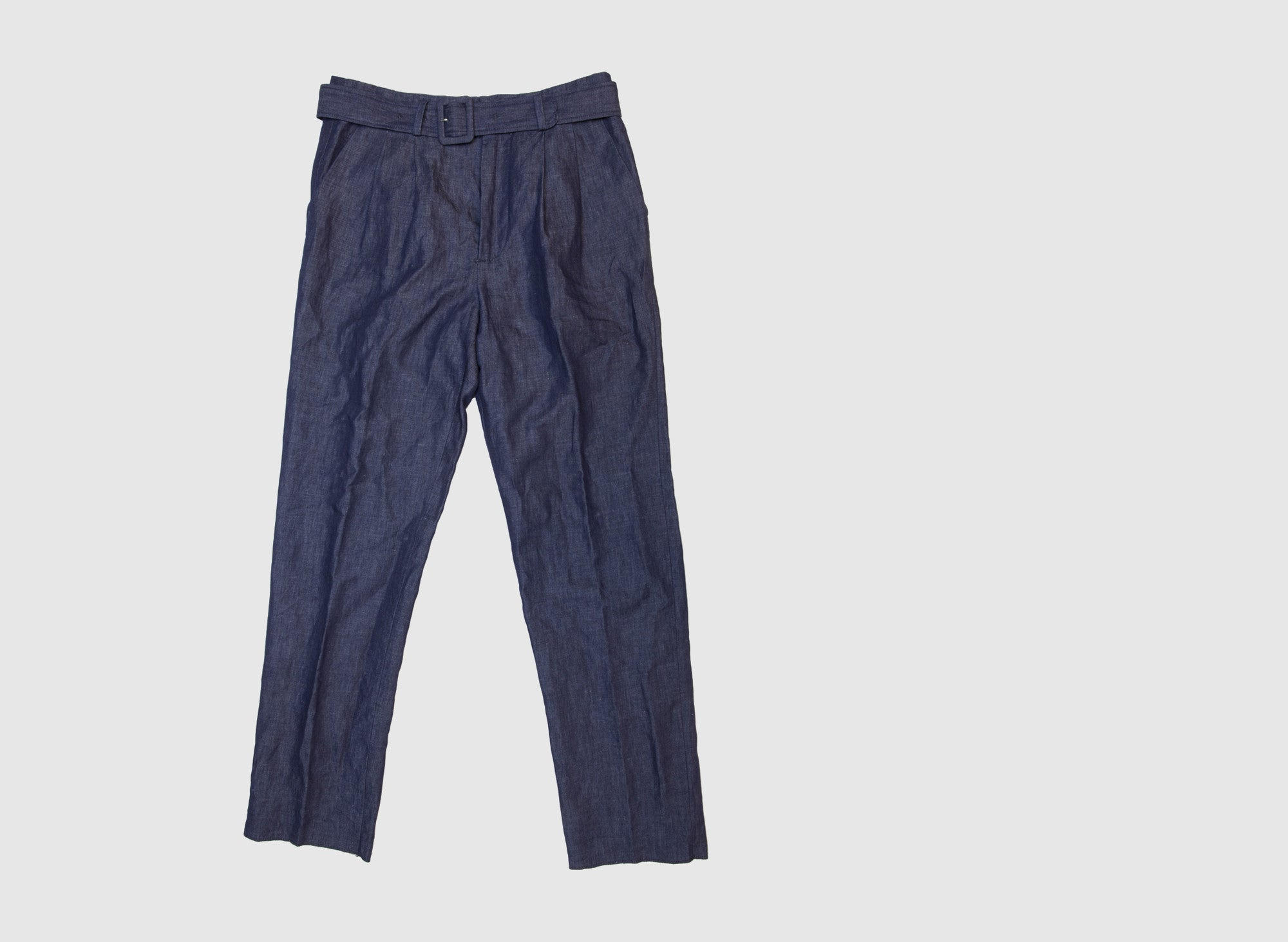 PLEATED SUMMER TROUSER
