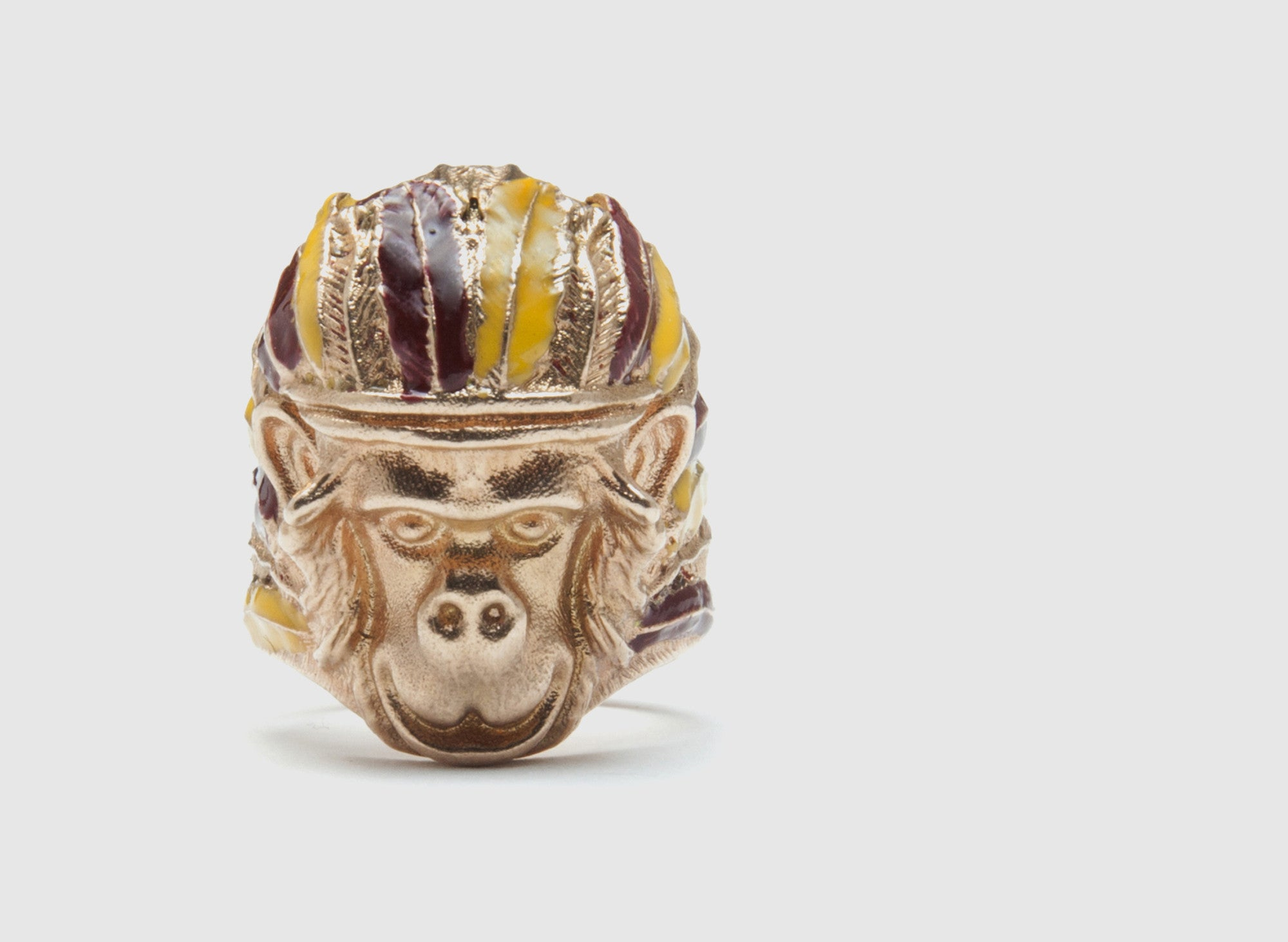 INDIAN MONKEY RING 18K ROSE GOLD