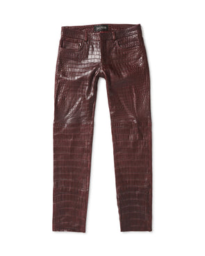 Alligator Skin 5 Pocket Jean - Jay Kos Menswear