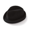 Black Rabbit Velour Fedora - Jay Kos Menswear
