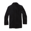 Double Breasted Navy Mink Peacoat - Jay Kos Menswear