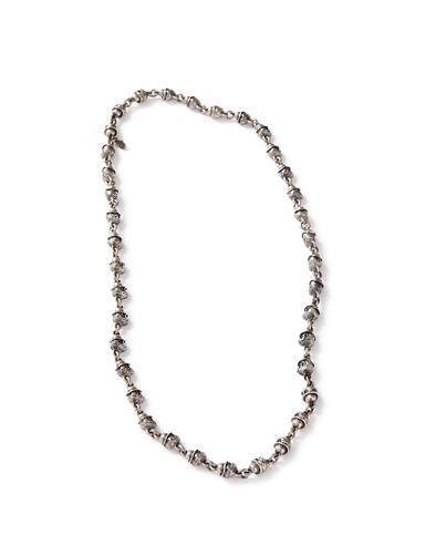 Silver Small Monkey Head Necklace - Jay Kos Menswear