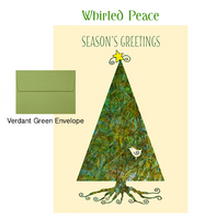 2018 Holiday Cards: Whirled Peace