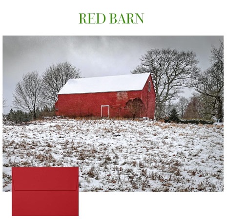 2019 Holiday Cards: Red Barn