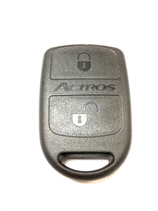 Replacement 2 button case for Mercedes Actros remote alarm