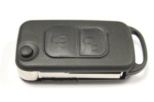 Replacement 2 button flip key case for Chrysler Crossfire remote 2004 - 2008