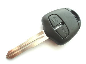 Replacement 2 button key case for Mitsubishi Warrior Outlander Shogun  remote key right groove