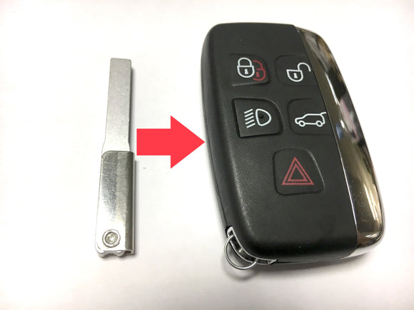 Replacement uncut key blade HU101 for Land Rover Range Rover remote fob