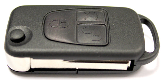 Replacement 3 button flip key case for Mercedes ML class remote key 1997 - 2005