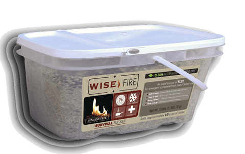 Emergency Fire Starters - 1 Gallon Bucket Wise FIre