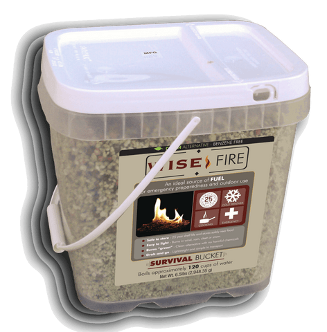 Emergency Fire Starters - 2 Gallon Bucket Wise Fire