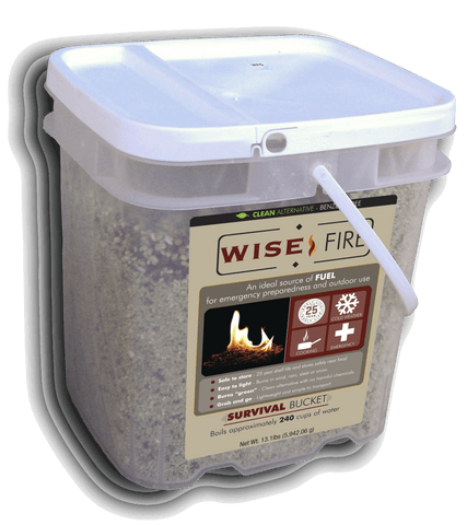 Emergency Fire Starters - 4 Gallon Bucket Wise Fire
