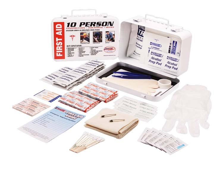 First Aid Kits - 10 Person First Aid Kit