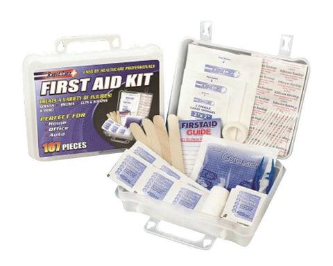 First Aid Kits - 107 Piece Fist Aid Kit